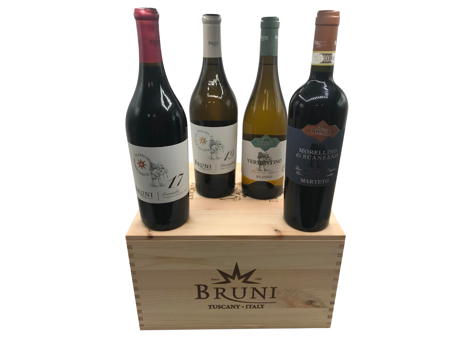 Cassetta di Vini - Cantine Bruni