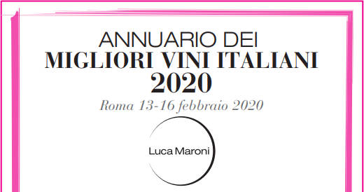 Annuario 2020 Luca Maroni